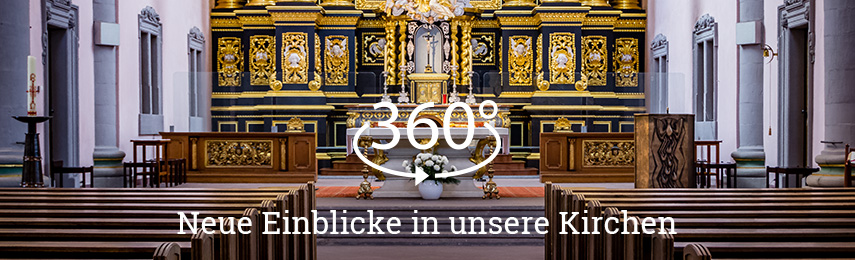 360 Grad Ansichten – Katholisch in Paderborn