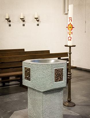 Katholisch in Paderborn – Taufe